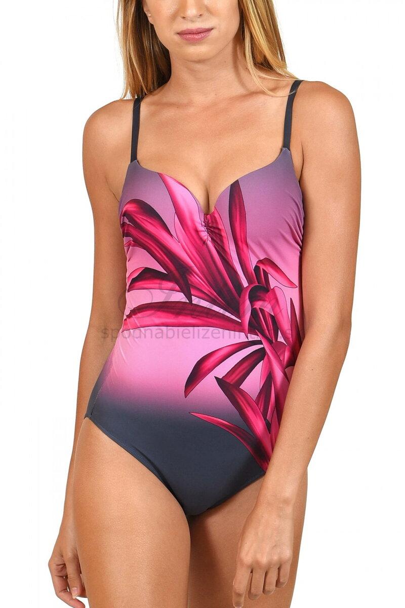 ba4d5d5725 Jednodielne celé plavky s jemne vystuženou podprsenkou s kosticou ...