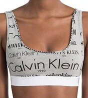 1568f108ab Calvin Klein športová bralette podprsenka F4057E sivá HLB