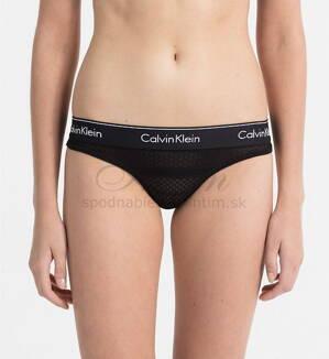 8f9e27c3ce Calvin Klein string nohavičky F4652E čierne 001