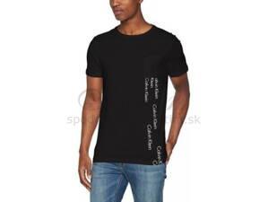 f9645e3fef Calvin Klein pánske tričko s krátkym rukávom KM0KM00013 čierna 001