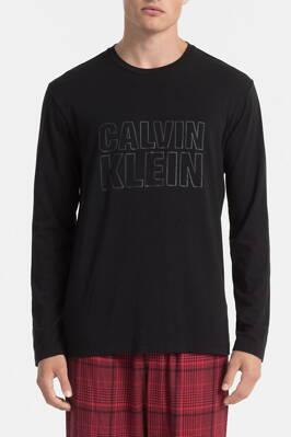 f14d80fa79 Calvin Klein pánske tričko s dlhým rukávom M9626E čierna 001