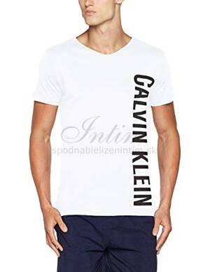 d0eeb79fe2 Calvin Klein pánske tričko s krátkym rukávom KM0KM00017 biela 100