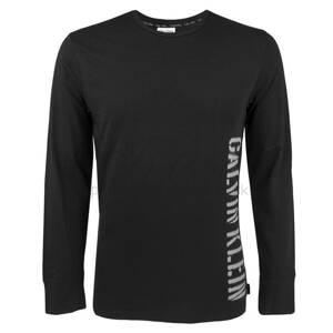 f5367c16eb Calvin Klein pánske tričko s dlhým rukávom NM1463E čierna 9ZP